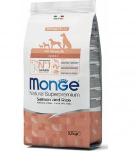 Monge - Natural Superpremium - All Breeds Adult - 2.5 kg