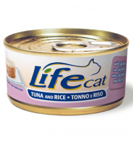 Life Cat - Tonno & Riso - 170g x 6 lattine