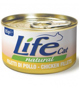 Life Cat - Natural - 85g x 6 lattine