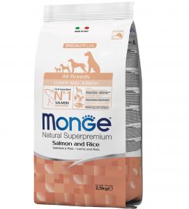 Monge - Natural Superpremium - All Breeds Puppy&Junior - 2.5 kg
