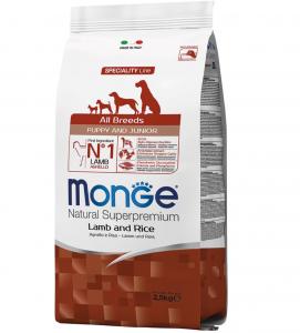 Monge - Natural Superpremium - All Breeds Puppy&Junior 2.5 kg