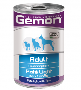 Gemon Dog - Adult - Patè - 400gr x 24 lattine