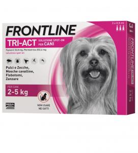 Frontline - TriAct - Da 2 a 5 kg - 3 pipette