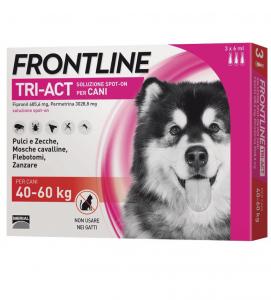 Frontline - TriAct - Da 40 a 60 kg - 3 pipette