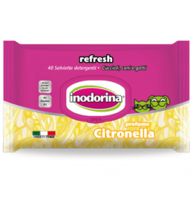 Inodorina - Salviette Igieniche Refresh Extra - 4 confezioni da 40 salviette