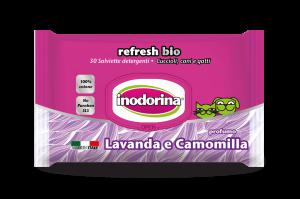 Inodorina - Salviette Igieniche Refresh Bio - 4 confezioni da 30 salviette