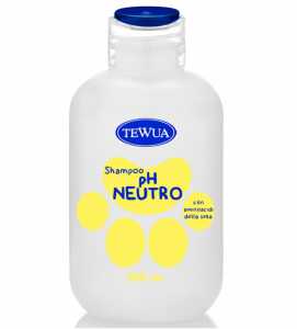 Tewua - Shampoo Ph Fisiologico - Neutro 500ml
