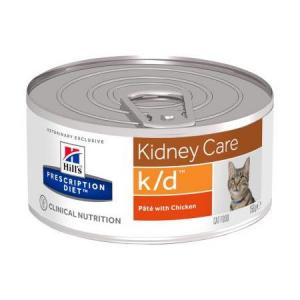 Hill's - Prescription Diet Feline - k/d - 156g x 6 lattine