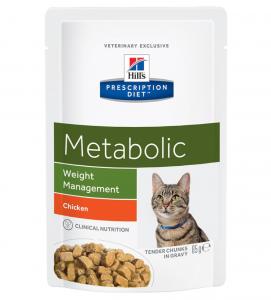 Hill's - Prescription Diet Feline - Metabolic - 85g x 12 buste