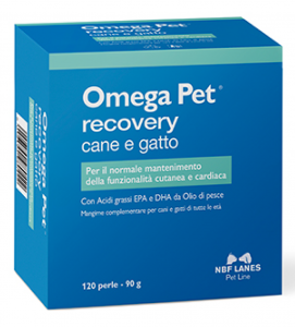 NBF - Omega Pet Recovery - 120 perle