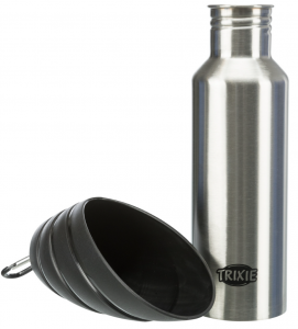 Trixie - Distributore d'acqua in acciaio - 750ml
