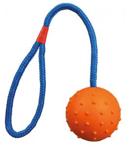 Trixie - Palla con Corda - 30/ø 6 cm