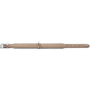 Hunter - Collare Basic in crosta di pelle rivestita 55/M
