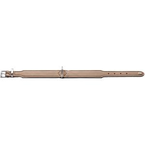 Hunter - Collare Basic in crosta di pelle rivestita 60/M-L