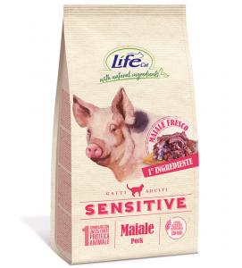 Life Cat - Sensitive - Maiale - 1.5kg