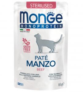 Monge Cat - Monoprotein - Adult - Sterilised - 85g x 7 buste