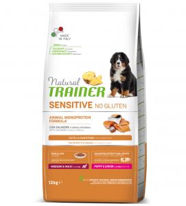 Trainer Natural Sensitive - Medium/Maxi - Puppy&Junior - 12 kg x 2 sacchi