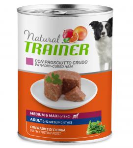 Trainer Natural - Medium\Maxi - Adult - 400g x 6 lattine