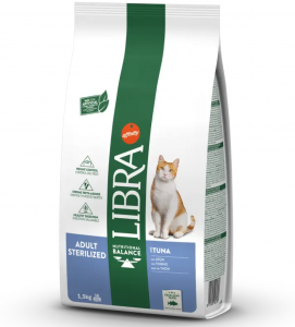 Libra Cat - Adult - Sterilizzato - 10 kg - 5 sacchi + 1 omaggio
