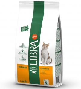 Libra Cat - Urinary - Pollo - 10 kg - 5 sacchi + 1 omaggio