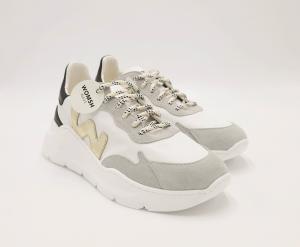 Sneakers bianca grigio Womsh.