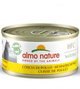 Almo Nature - HFC Cat - Natural - Adult - 70g x 12 lattine