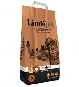 Lindocat - Lettiera Universale Pellet - 10 litri