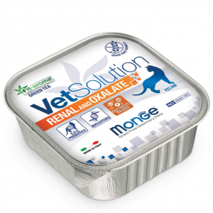 Monge - VetSolution Feline - Renal and Oxalate - 100g x 6 vaschette