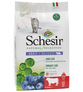 Schesir Cat - Natural Selection - Adult - Manzo - 4.5kg