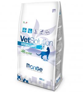 Monge - VetSolution Feline - Dermatosis - 400gr