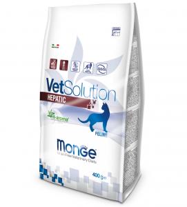 Monge - VetSolution Feline - Hepatic - 400gr