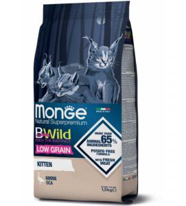 Monge Cat - Bwild Low Grain - Kitten - Oca - 1.5kg