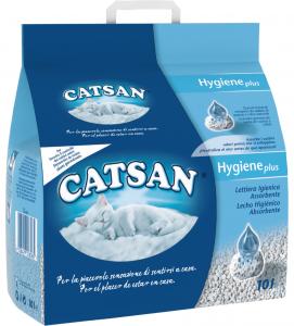 Catsan - Hygiene Plus - 10 litri