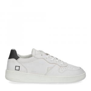 D.A.T.E. Court calf white black-2