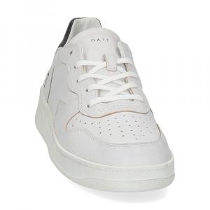 D.A.T.E. Court calf white black-3