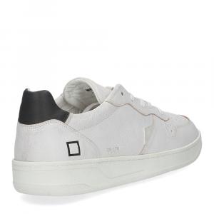 D.A.T.E. Court calf white black-5