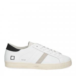 D.A.T.E. Hill low calf white black-2
