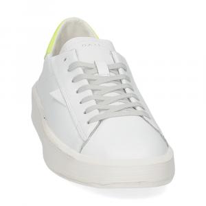 D.A.T.E. Ace calf white yellow-3