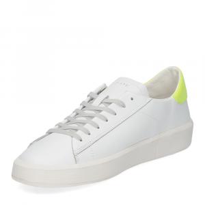 D.A.T.E. Ace calf white yellow-4