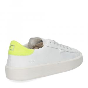 D.A.T.E. Ace calf white yellow-5