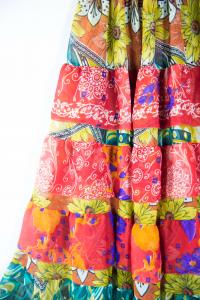 Gonna a balze stile etnico. Abbigliamento donna online