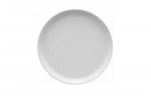 Piattino pane porcellana bianca cm.2h diam.16