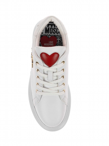 Love Moschino Sneakers donna bianca