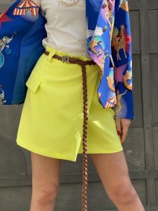 Minigonna Vicolo con spacco laterale e taschine laterali