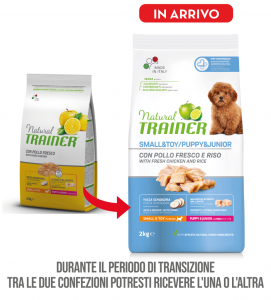 Trainer Natural - Small&Toy - Puppy&Junior - 2 kg