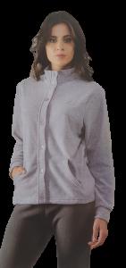 Pigiama Donna Pile caldo Invernale Aperto abbottonato elastici LIABEL LDP11638M