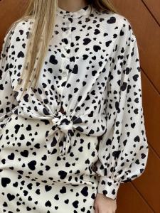 Camicia Cuori Vicolo