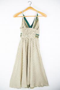 Vestito lungo spalline regolabili. Abiti moda etnica online