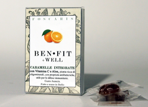 Caramelle Integrate +WELL Gusto Arancia