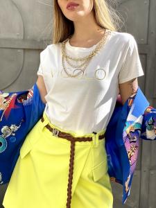 Tshirt Vicolo con collana a catena 3 colori